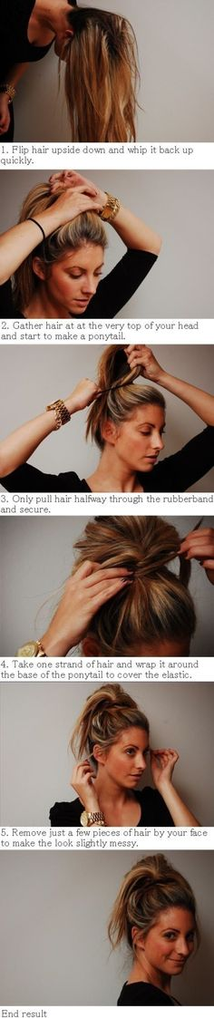 You Must Try #These Ponytail Hacks Today... or Maybe Tomorrow ...