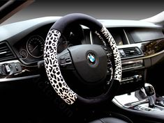 Buy Wholesale Unique Leopard Print Car Steering Wheel Covers Velvet 15 Inch - Black Yellow from Chinese Wholesaler Car Interior Accessories, Car Interior Decor, Car Accessories For Girls, Jeep Accessories, Jeep Covers, Mustang Interior, Car Seat Organizer, Bug Car, Car Steering Wheel Cover