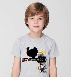 Thanksgivukkah t-shirt | Cool Mom Picks