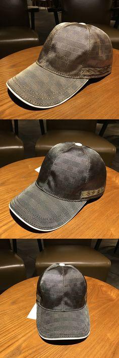 New leather Baseball Caps men cap Women hat lattice  Fashion Sport Outdoor sunhat Luxury brand hats