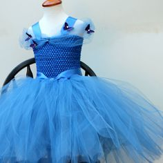 Cinderella Dress Disney Princess Dress  New by BloomsNBugs on Etsy