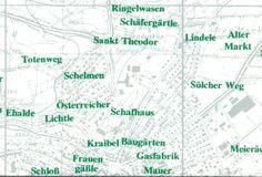 "Vom ""Totenweg"" zu den ""Schelmen"" - #Flurnamen der Woche - passend zum November www.flurnamen.de/Kontakt/Charts"