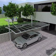 Policarbonados Carports Alumínio Material Garagem