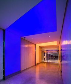 3 Newmat-Light double-layer ceiling systems and 3 single-layer wall systems using white color/finish membranes with wall-mounted ghost perimeter rails and ... & L2 Lounge - LSM Interior Architects with MCLA lighting Design | Type ...