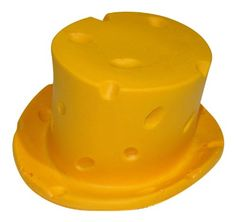7edd6a603 Green Bay Packers NFL Cheesehead TOP HAT Adult Size Cheese Head TOP HAT --
