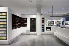 Pharmacy Design, Erlangen, GERMANY, Jordan Apotheke, Glahn Architekten, www.facebook.com/epsilonbratanis