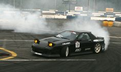 Practice Day at the Formula Drift Event