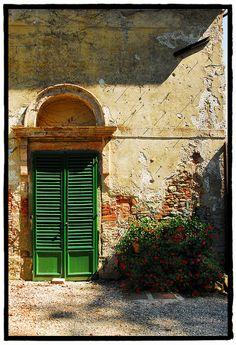 Tuscan Villa door