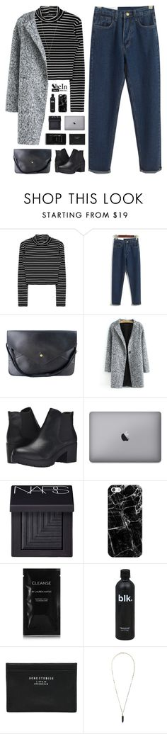 """SheIn 7"" by novalikarida ❤ liked on Polyvore featuring Steve Madden, NARS Cosmetics, Casetify, Cleanse by Lauren Napier, Acne Studios, Isabel Marant, vintage and Sheinside"