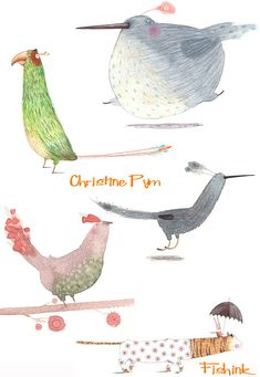 Fishinkblog 8396 Christine Pym 11 Check out my blog ramblings and arty chat here www.fishinkblog.w... and my stationery here www.fishink.co.uk , illustration here www.fishink.etsy.com and here carbonmade.com/.... Happy Pinning ! :)