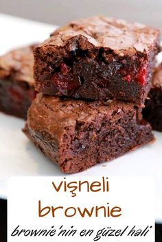 Vişneli Brownie You are in the right place about Brownie ideas Here we offer you the most beautiful pictures about the Brownie recette you are looking for. When you examine the Vişneli Brownie part of the picture you can get the massage[. Yummy Recipes, Plum Recipes, Desert Recipes, Vegetarian Recipes, Yummy Food, Cherry Recipes, Lemon Polenta Cake, Polenta Cakes, Cheesecake Brownie
