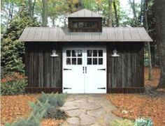 Shed Plans DIY - CLICK PIC for Lots of Shed Ideas. #diyproject #shedplansdiy #shedplans Lean To Shed Plans, Diy Shed Plans, Storage Shed Plans, Garage Plans, Cabin Plans, House Plans, Horse Barn Designs, Cheap Sheds, Build Your Own Shed