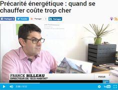 Phénomène de précarité énergétique ; émission France24 (rénovation énergétique)