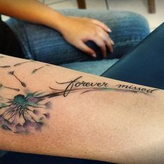 nice Top 100 dandelion tattoo - http://4develop.com.ua/top-100-dandelion-tattoo/ Check more at http://4develop.com.ua/top-100-dandelion-tattoo/