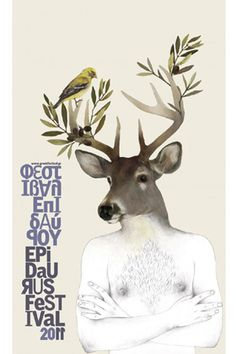 Athens & Epidaurus Festival poster