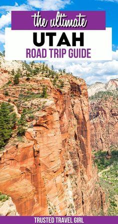 The Ultimate Utah Road Trip Guide