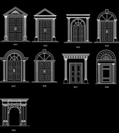 Architectural decorative elements 1 – CAD Design | Free CAD Blocks,Drawings,Details