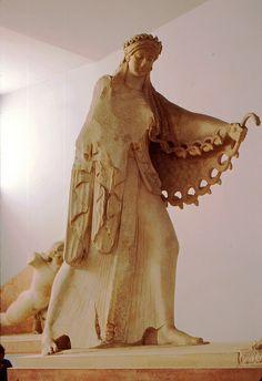 Greece - Athen 1976 - Akropolis - Museum - Pallas Athene