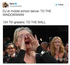 Singing along with a middle school class to Lil' John. | Meryl Streep Yelling To Your Favorite Songs Is The Meme You've Been Waiting For