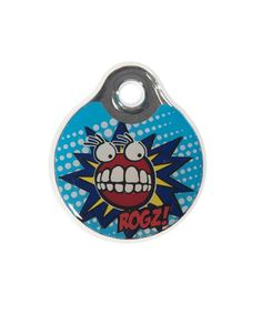 ROGZ INSTANT ID TAGZ - COMIC. Available from Nuzzle.co.za Dog Collars, Your Dog, Tags, Comics, Accessories, Cartoons, Comic, Mailing Labels, Comics And Cartoons