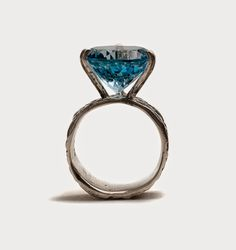 Lisa Roet Topaz and sterling silver ring for Pieces of Eight Gallery.