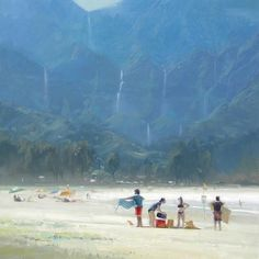 Hanalei Bay by Richard Robinson