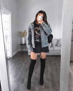 Trendy Fall Outfits, Teen Fashion Outfits, Girly Outfits, Cute Casual Outfits, Pretty Outfits, Stylish Outfits, Jugend Mode Outfits, Iranian Women Fashion, Mode Streetwear