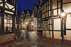 Historic district of Minden Places Around The World, Oh The Places You'll Go, Great Places, Beautiful Places, Around The Worlds, Amazing Places, Germany Landscape, German Village, Architecture