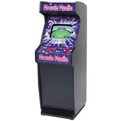 Arcade Mania Upright Get ready to play over 150 all-time arcade classics with the Mightymast Leisure Arcade Mania Upright machine! You'll love the nostalgia as you try to beat your all time high score. Perfect for the contemporary games room, work place, man cave or playroom - this is the ultimate in retro cool. Young and old alike can enjoy endless hours of fun playing their favourite arcade games!