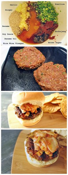 This Bulgogi Burger is Korean flavor in American food... maybe I'll make it for my family this summer?