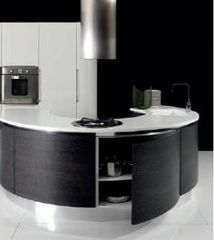 Contemporary style kitchen VOLARE Contemporary Collection by Aran Cucine Kitchen Dinning, Contemporary Design, Sink, Sweet Home, The Originals, Table, Furniture, Collection, Stove
