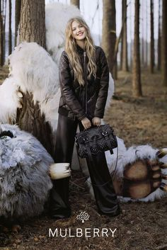 Lindsey Wixson Gets Enchanted for Mulberrys Fall 2012 Campaign by Tim Walker