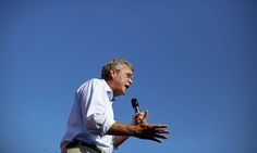 Jeb Bush speaks at the Iowa state fair in Des Moines