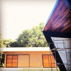 #arquitetura #design #fazendaduasmarias #steel #wood #architecture #arquiteto  UNEAUD