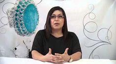 Turorial 2 tejido a crochet con hilo de plata, cobre y de color..MOV - YouTube