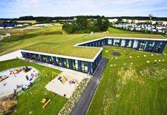 [Henning Larsen's Day Care Center in Denmark] Green, Social, Technology Architecture