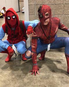 Spiderman Cosplay, Deadpool, Superhero, Fictional Characters, Spiders, Fantasy Characters