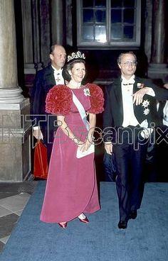 1989 Koning Carl Gustaf en Koningin Silvia