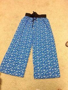 Pants Palazzo Retro Wide Leg Boho Bottoms polka dots by Artsiart, $29.99