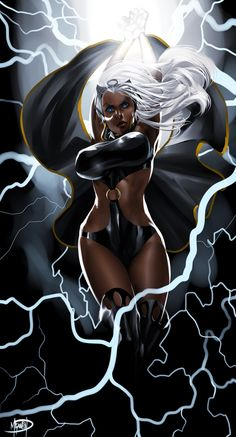 imthenic:   Storm Goddess by megaween - Living life one comic book at a time.