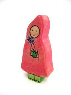 Root Child Nature Table Toy Waldorf Toy by ArmadilloDreams, $9.00