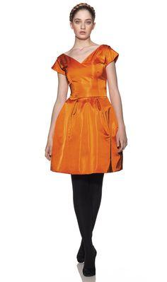 50s style Cocktail Dress Burda FirstRow-713-DL