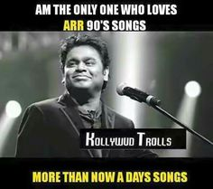 Yeah.. How many of you agree with this?   #arr #arrahman #arrahmansongs