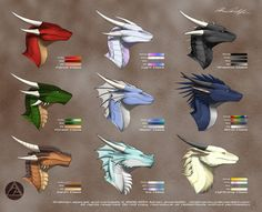 Drakhan Breeds - Headshots by Drak-Arts