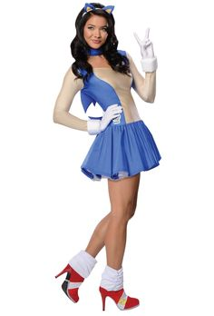 perfect! Sonic The Hedgehog Sonic Adult Costume from BuyCostumes.com