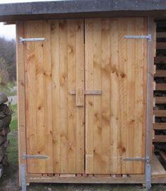 Diy-gartenhaus: So Bauen Sie Ein Kleines Holzhaus Im Garten ? Eine ... Garten Kinder Kindermoebel Spielecken Diy