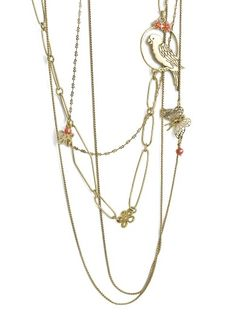 Birds of a Feather Necklace by Pilgrim available at Chic Peek