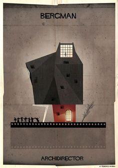 Artista imagina como seriam as casas de grandes diretores - Slideshow - AdoroCinema