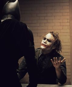 The Dark Knight. Never start with the head the victim gets all fuzzy he can't feel next thing lol