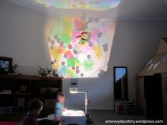over head projector!!